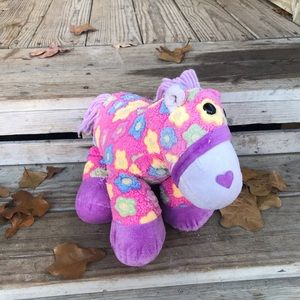 Other - Floral plush stuffed horse